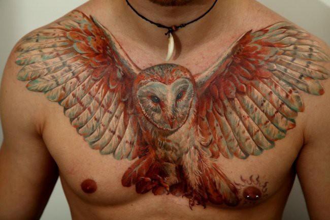 Картинки татуировок на груди